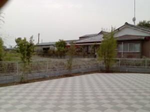 行田市植栽 完了