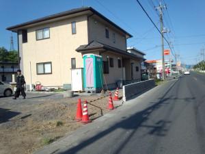 東松山市の外構工事と蕨市の芝生工事、川口市の倒木復旧