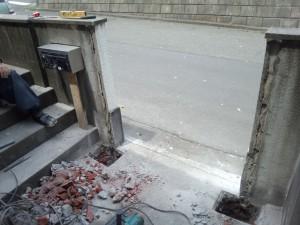 小川町の門扉交換工事