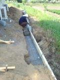 滑川町外構工事・上尾市植栽植込み、芝張り