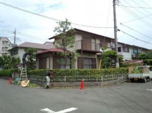 鴻巣コンクリート打ち・東松山庭木剪定