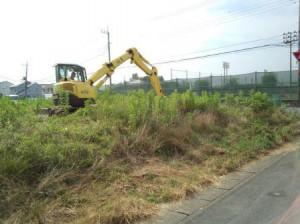 東松山市六軒町の造成工事・東松山市あずま町の庭工事
