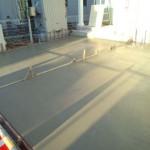 東松山市松山町外構工事コンクリート打設7