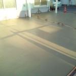 東松山市松山町外構工事コンクリート打設9