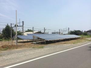 深谷市太陽光パネル外周フェンス