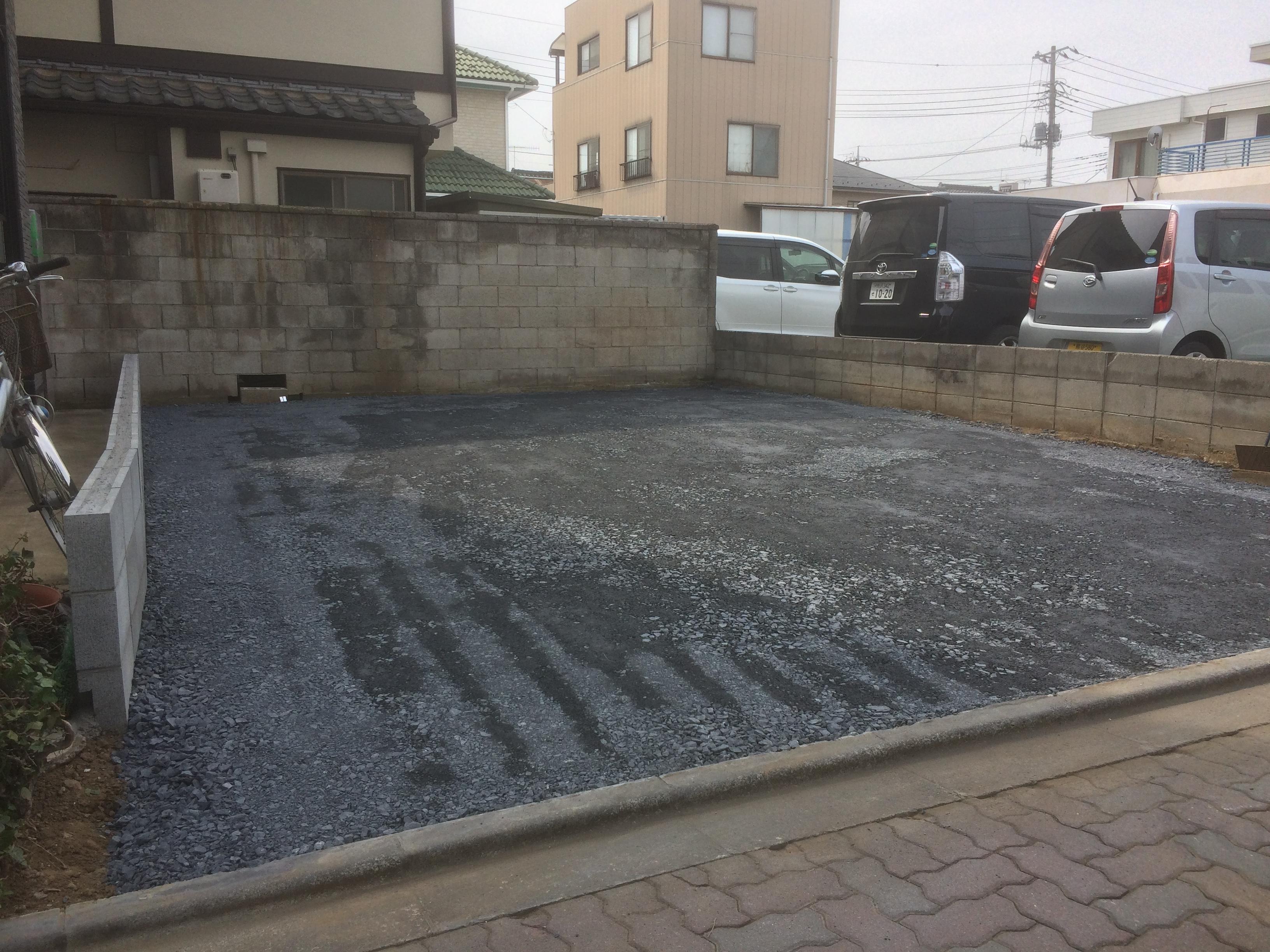 東松山市車庫&物置工事、桜の木伐採工事   ミチヒラ造園 ...