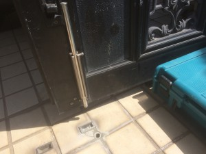 川越市の門扉修理