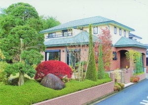 東松山市の完成お庭写真