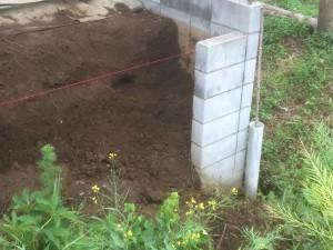 日高市の土留工事、東松山市の管理工事 芝生除草、さいたま市の伐採工事お見積り