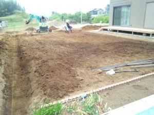 東松山市の庭工事