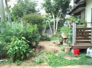 所沢の庭池工事・東松山市外構工事