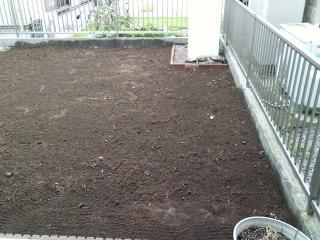 伊奈町人工芝工事整地完了