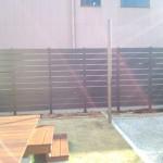 熊谷市フェンス及び植込み工事