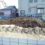 川越市人工芝張り・杉戸町ブロック積みと盛土工事