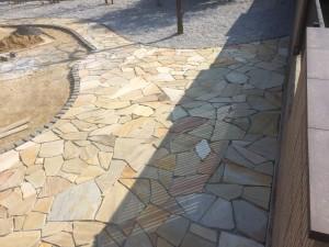 美里町庭天然石5
