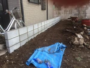 東松山市ブロック工事3段目2.9