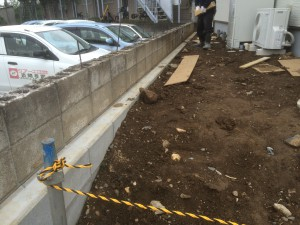 東松山市外構工事 着工前
