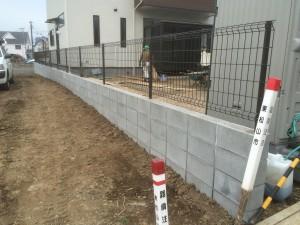 東松山市外構工事2