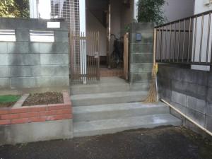 加須市リフォーム現場