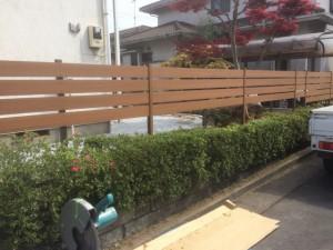 東松山市のお庭工事、川越市の剪定工事