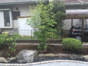 東松山市のお庭工事完了!