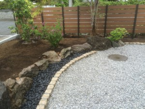 東松山お庭工事 完了2