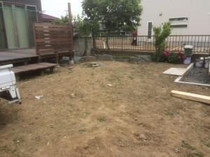 松伏町のお庭工事、川口市の伐採抜根工事、東松山市のリガーデン