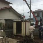 富士見市 造園工事 物置移設等、白岡町 草刈 完了